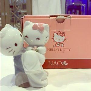"PORCELAIN ""Hello Kitty Gets Married"" figurine"